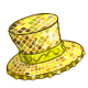 Lucky Golden Top Hat