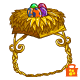 Golden Clucken Nest Hat