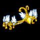 Golden Clucken Tiara