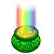 End of Rainbow Pot of Gold