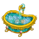 Swirling Seas Bathtub