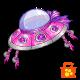 Pink UFO Hat