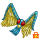 Pirate Treasure Wings