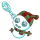Abominable Snowball Charm