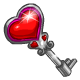 Heart Box Key