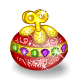 Wind-up Jewelled Egg