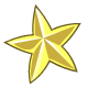 Gold Star Sticker