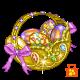 Jewelled Egg Basket