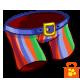 Rainbow Stripes Party Pants