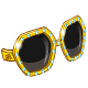 Golden Fashion Sunglasses