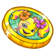 Island Girl Wish Coin