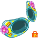 Island Flowers Sunglasses