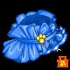 Blue Ruffles Hat
