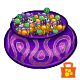 Purple Candy Cauldron