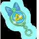 Opal Birthday Keychain
