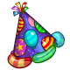 Balloon Party Hat