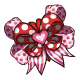 Fancy Valentine Hairclip